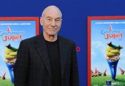 "Patrick Stewart attends the ""Gnomeo & Juliet"" premiere in Los Angeles"