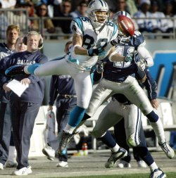 DALLAS COWBOYS AT CAROLINA PANTHERS