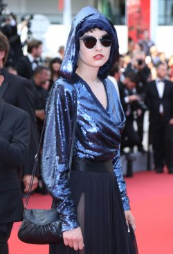 Fashion on the red carpet at the Cannes Film Festival