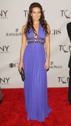 Laura Benanti attends the 65th Annual Tony Awards held in New York