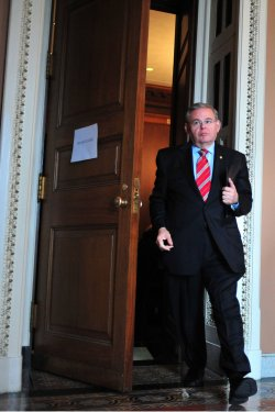 Sen. Bob Menendez in Washington