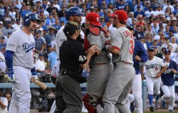 NLDS Game 1 St. Louis Cardinals at Los Angeles Dodgers