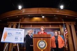 Senate Women Speak on Student Load Debt in Washington, D.C.