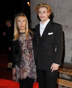 "Sam Taylor- Wood and Aaron Johnson attend the ""BFI London Film Festival Awards"" in London"