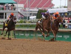 Princess of Sylmar wins the 139th Kentucky Oaks in Louisville, Kentucky