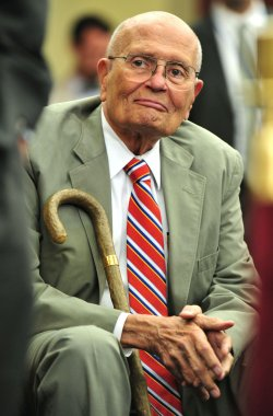 Rep. John Dingell (D-MI) attends at a news conference celebrating the 46th anniversary of Medicare in Washington