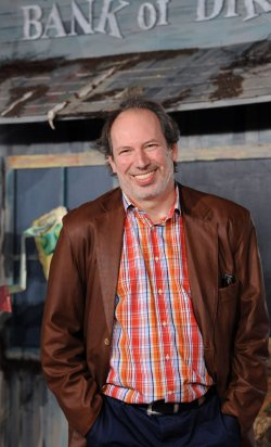 """Hans Zimmer arrives at the """"Rango"""" premiere in Los Angeles"""