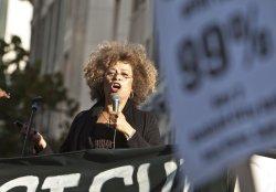 Occupy Oakland calls for a general strike in Oakland, California.