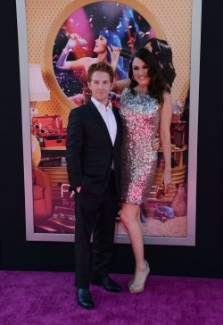 """Seth Green and Clare Grant attend the premiere of """"Katy Perry: Part of Me"""" in Los Angeles"""