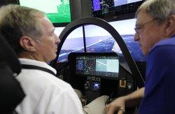 Lockheed Martin brings F-35 cockpit demonstrator to St. Louis