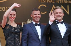 The team from L'amant double attends the Cannes Film Festival