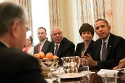 "President Obama meets on ""My Brother's Keeper"" initative in Washington"