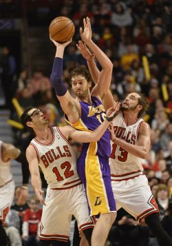 Los Angeles Lakers vs. Chicago Bulls