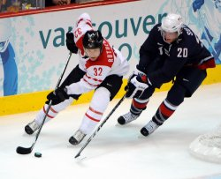 USA vs. Switzerland Men's Ice Hockey at 2010 Winter Olympics in Vancouver