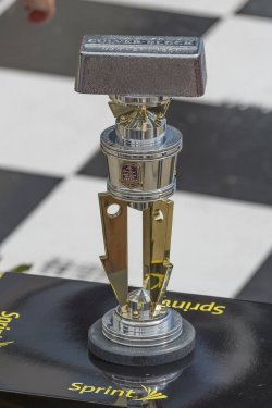 Brickyard trophy waits for Jeff Gordon