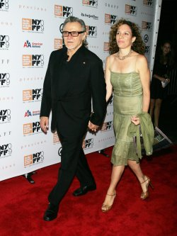 "Harvey Keitel arrives at the New York Film Festival premiere of ""Precious"" in New York"