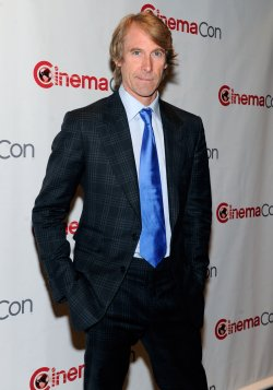 Michael Bay arrives at the 2013 CinemaCon in Las Vegas
