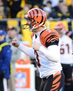 Bengals Josh Brown Kicks Game Winning Field Goal in Pittsburgh