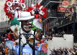 Mardi Gras Day in New Orleans