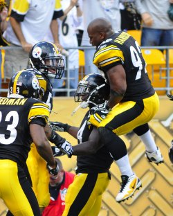 Steelers Rashard Mendenhall Runs 50 Yards for Touchdown in Overtime Win at Pittsburgh