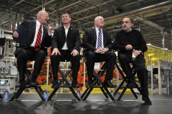 Chrysler Chairman and CEO Marchionne and Others Attend Event in Belvidere, Illinois