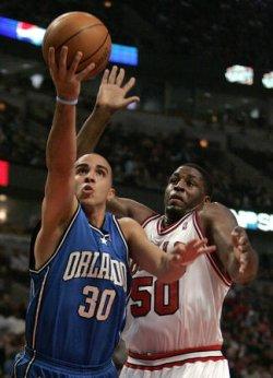 NBA BASKETBALL ORLANDO MAGIC VS CHICAGO BULLS