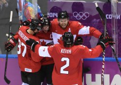 Men's hockey gold medal game at the 2014 Winter Olympics