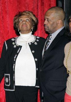 Whitney Houston wax figure in New York