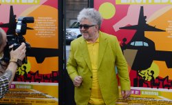 "Pedro Almodovar attends the ""I'm So Excited!"" premiere in Los Angeles"