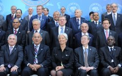 IMFC group photo at IMF/World Bank Spring Meetings in Washington