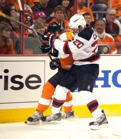 New Jersey Devils-Philadelphia Flyers 2nd round playoffs