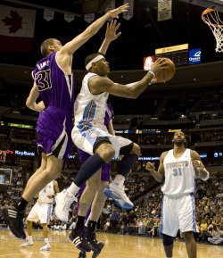 Sacramento Kings vs Denver Nuggets In Denver
