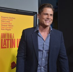 "Rob Lowe attends the ""How to Be a Latin Lover"" premiere in Los Angeles"
