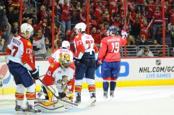 Washington Capitals vs Florida Panthers in Washington