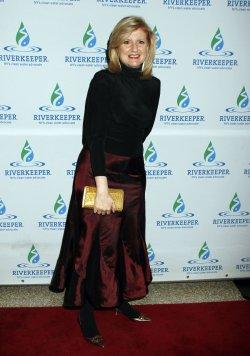 Arianna Huffington arrives for the Riverkeeper Fishermen's Ball New York