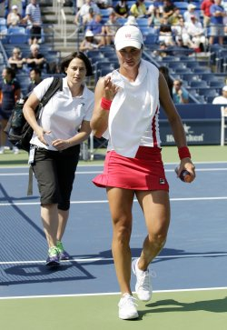 Monica Niculescu at the U.S. Open Tennis Championships in New York