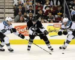 San Jose Sharks vs Pittsburgh Penguins in Pittsburgh