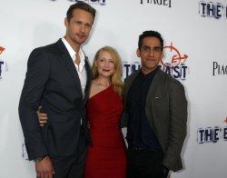 "Alexander Skarsgard, Patricia Clarkson, and Zal Batmanglij attend ""The East"" premiere in Los Angeles"