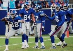 Dallas Cowboys at New York Giants 2001