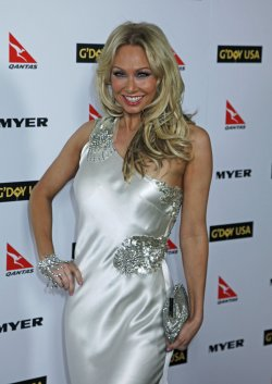 Kym Johnson arrives at the G'Day USA event in Hollywood