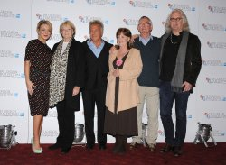 "Sheridan Smith, Maggie Smith, Dustin Hoffman, Pauline Collins, Tom Courtney and Billy Connolly attend ""Quartet"" photocall in London."