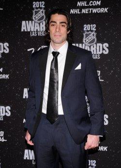 Matt Moulson arrives at the 2012 NHL Awards in Las Vegas
