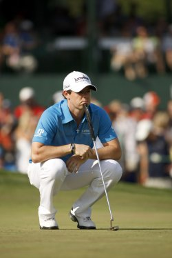 Rory McIlroy at Wells Fargo Championship in Charlotte, NC