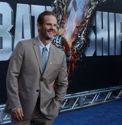 "Peter Berg attends the ""Battleship"" premiere in Los Angeles"