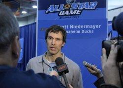 NHL All-Star teams practice in Atlanta