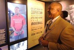 National Baseball Hall of Fame traveling exhibiton