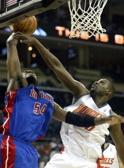 Charlotte Bobcats vs Detroit Pistons