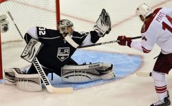 LA Kings vs Phoenix Coyotes game four of Western Conference Finals, NHL Stanley Cup Playoffs
