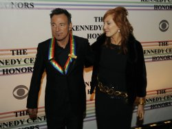 Bruce Springsteen and Patti Scialfa arrive at Kennedy Center Honors in Washington