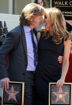 Felicity Huffman and William H. Macy receive stars on Hollywood Walk of Fame in Los Angeles